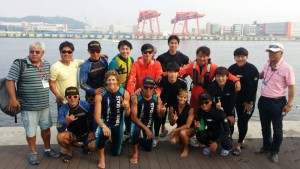 Water ski show clinics with Hanseo University, South Korea! Great time.